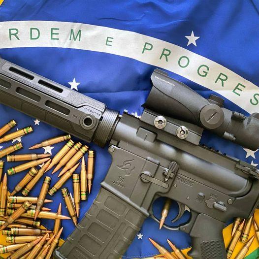As armas são ferramentas para a  proteção social