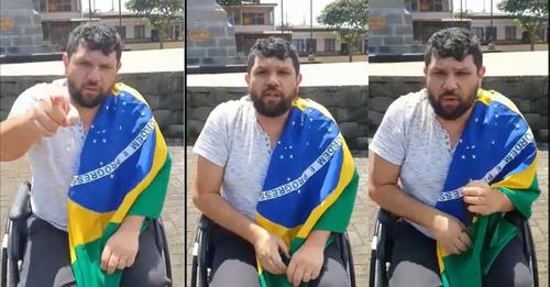 Eustáquio está na Costa Rica para denunciar na Corte Internacional prisão de Daniel Silveira