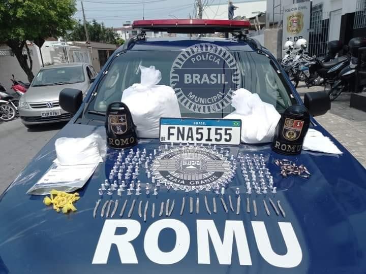 Guarda Civil apreende 34 kg de cocaína