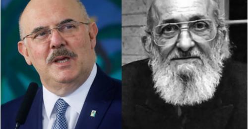 """""""Nossas crianças de 9 anos não sabem ler! Não é possível glorificar Paulo Freire"""""""