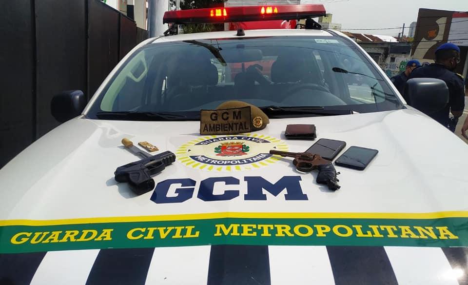 GCM-SP detém meliantes durante roubo