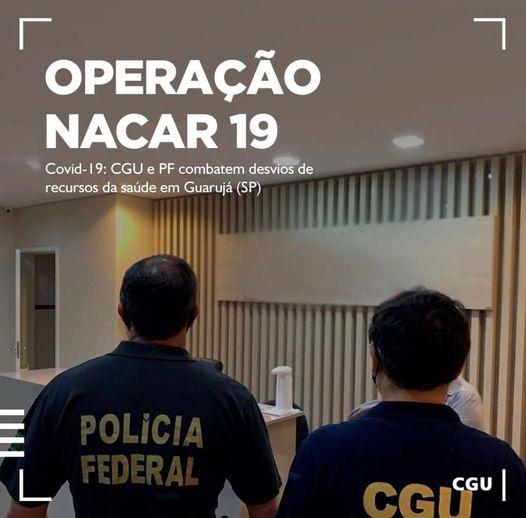 CGU e PF combatem desvios de recursos da saúde em Guarujá (SP)